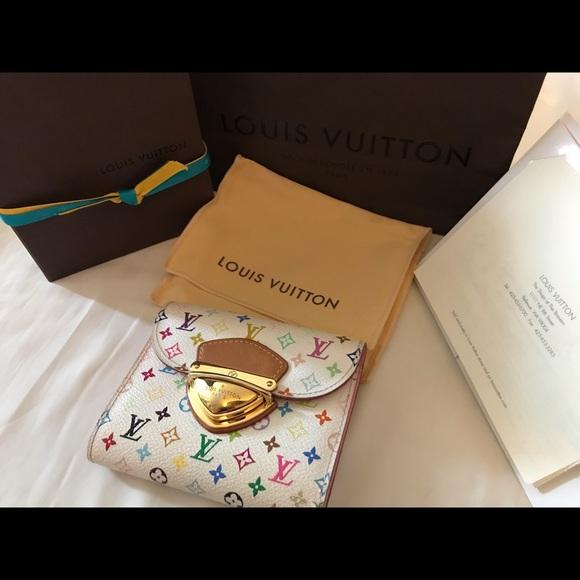 Louis Vuitton Handbags - Louis Vuitton Multicolored Trifold Wallet